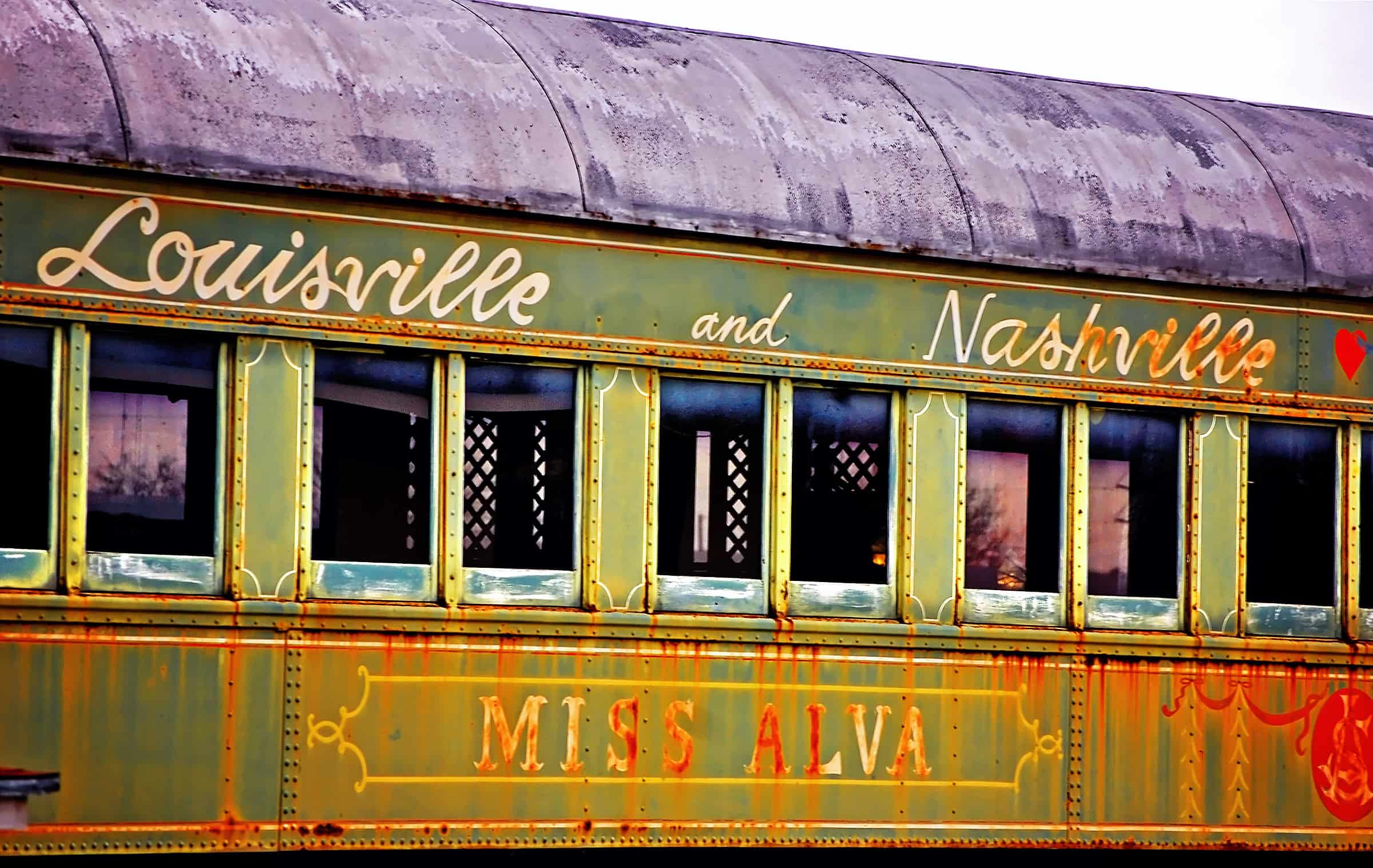 "Pullman Sleeper Car used in ""This Property is Condemned"" in Meridian, Mississippi"