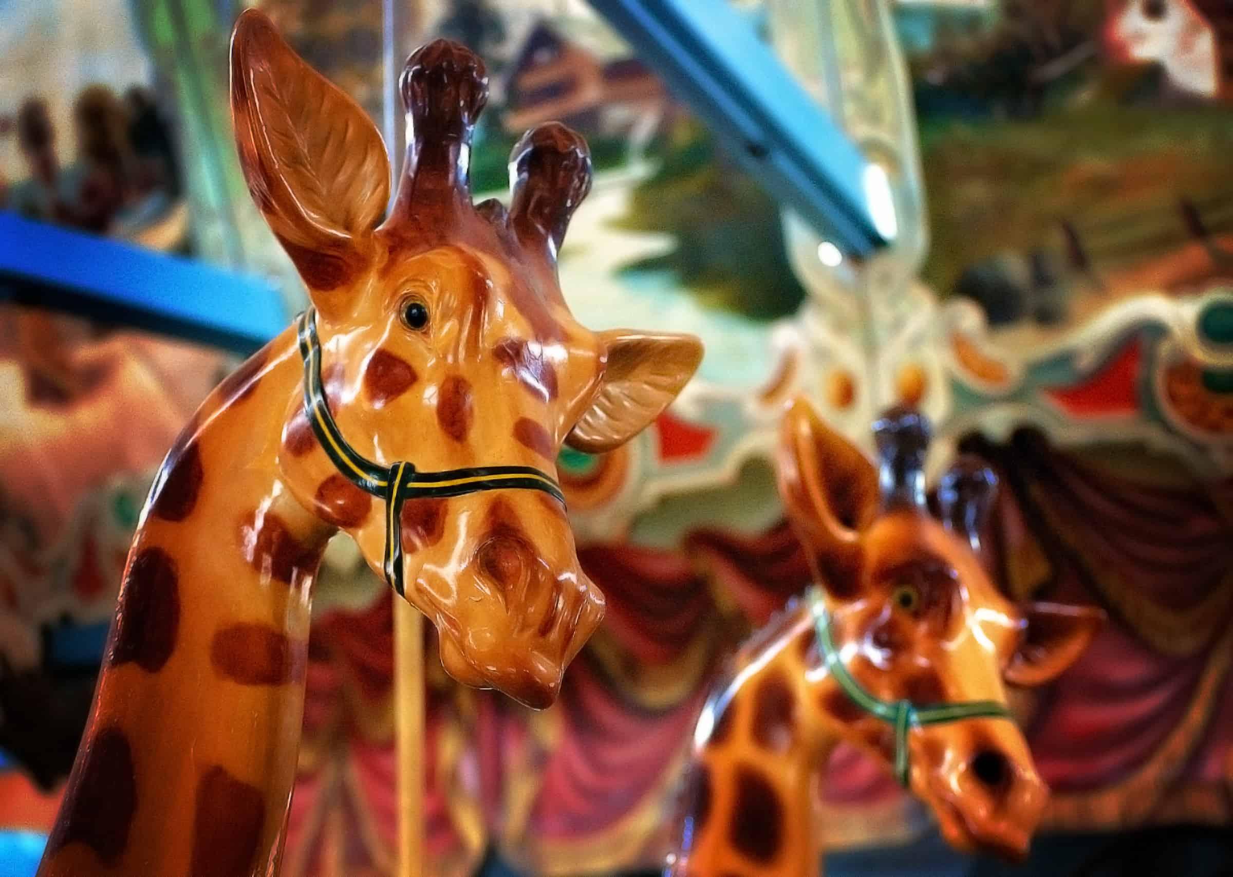 Dentzel Carousel in Meridian, Mississippi