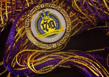 Mardi Gras medallion