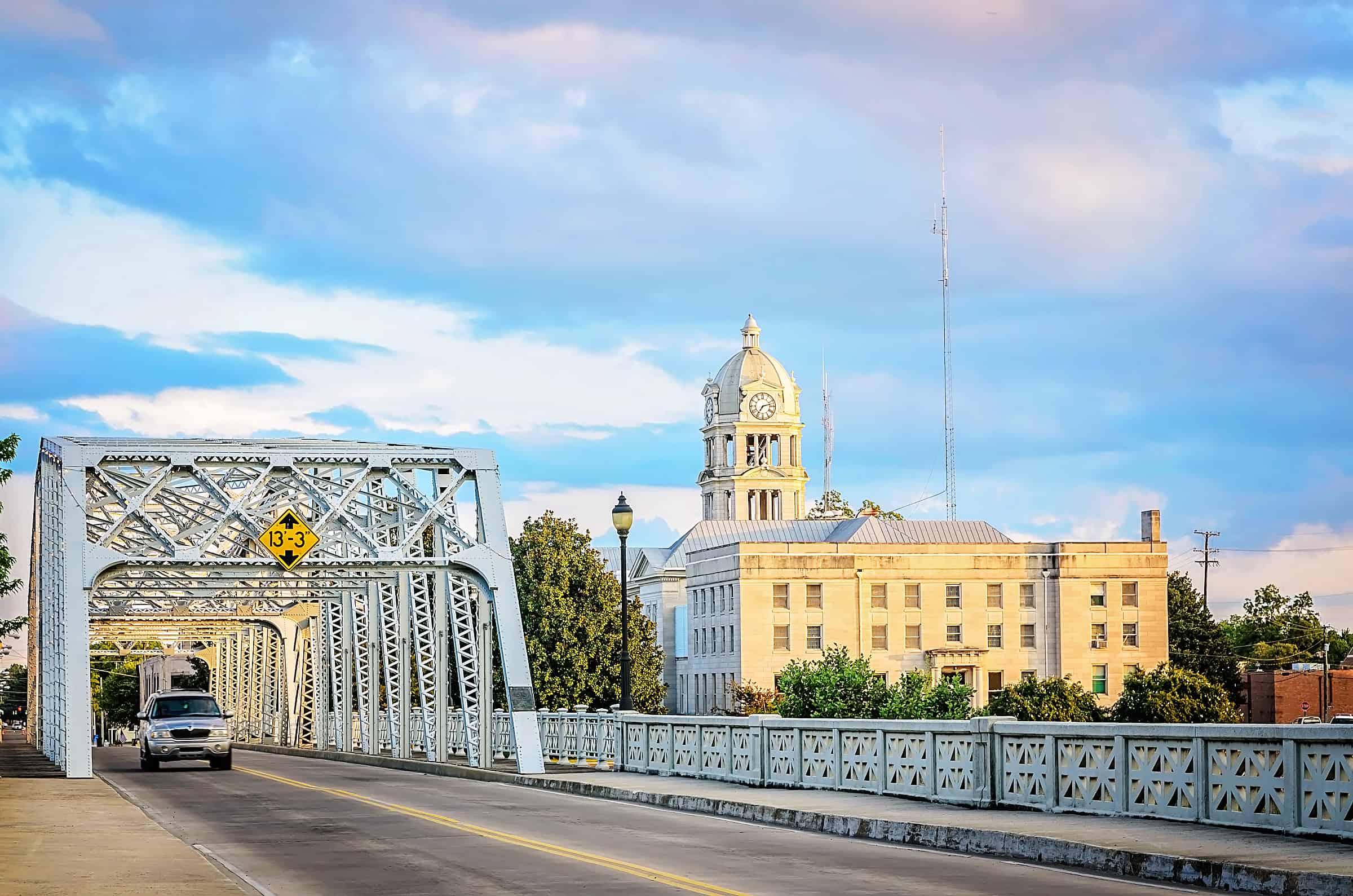 Keesler Bridge in Greenwood, Mississippi