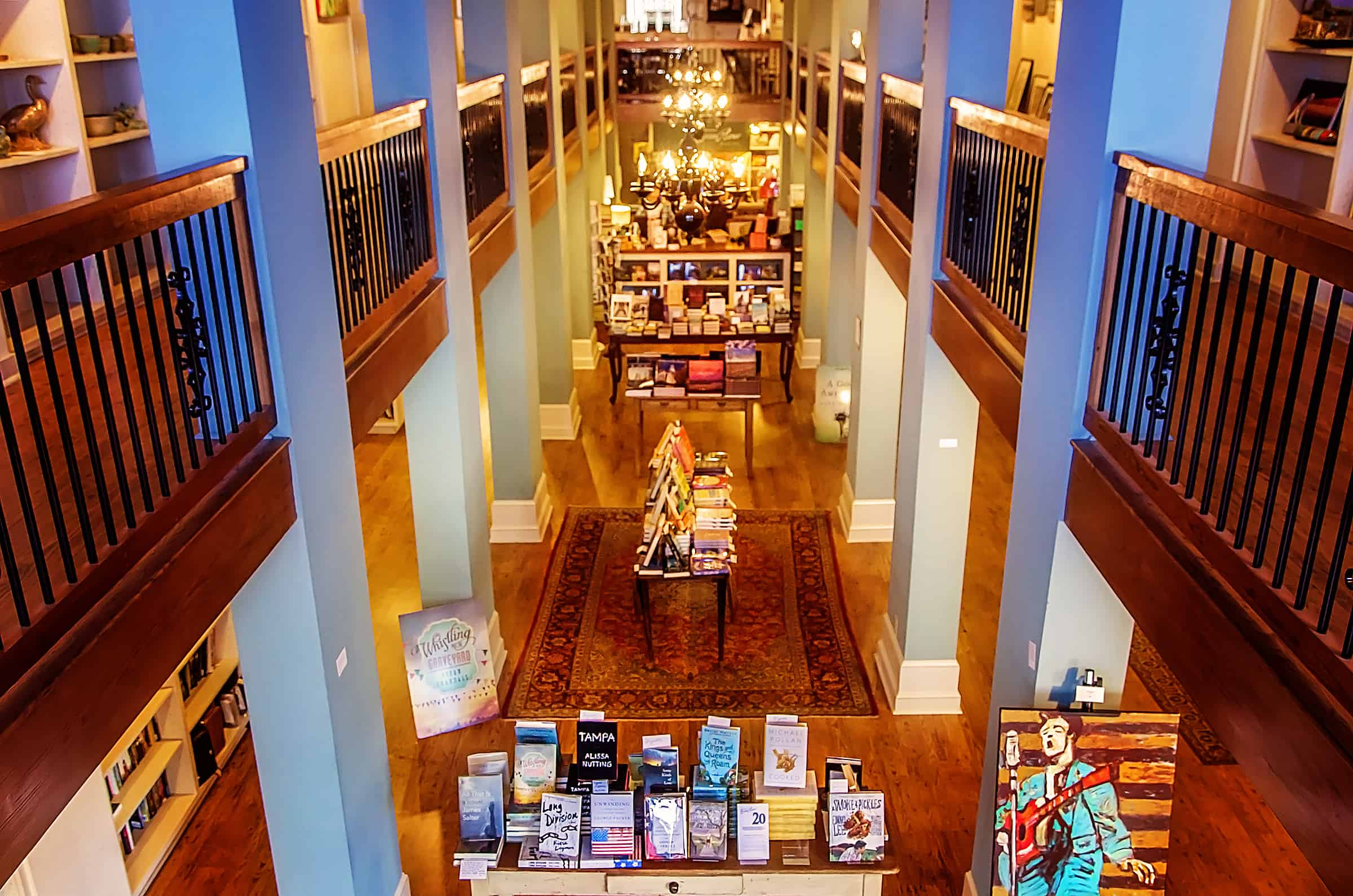 TurnRow Book Company in Greenwood, Mississippi