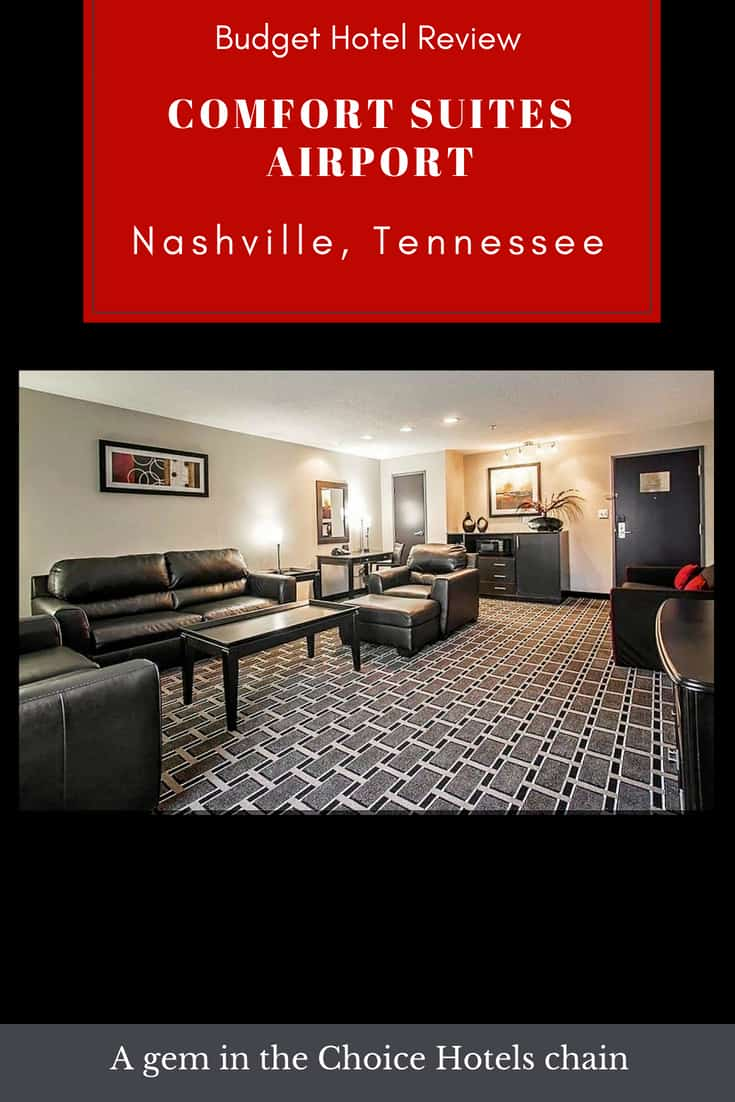 Hotel Review: Comfort Suites Airport in Nashville