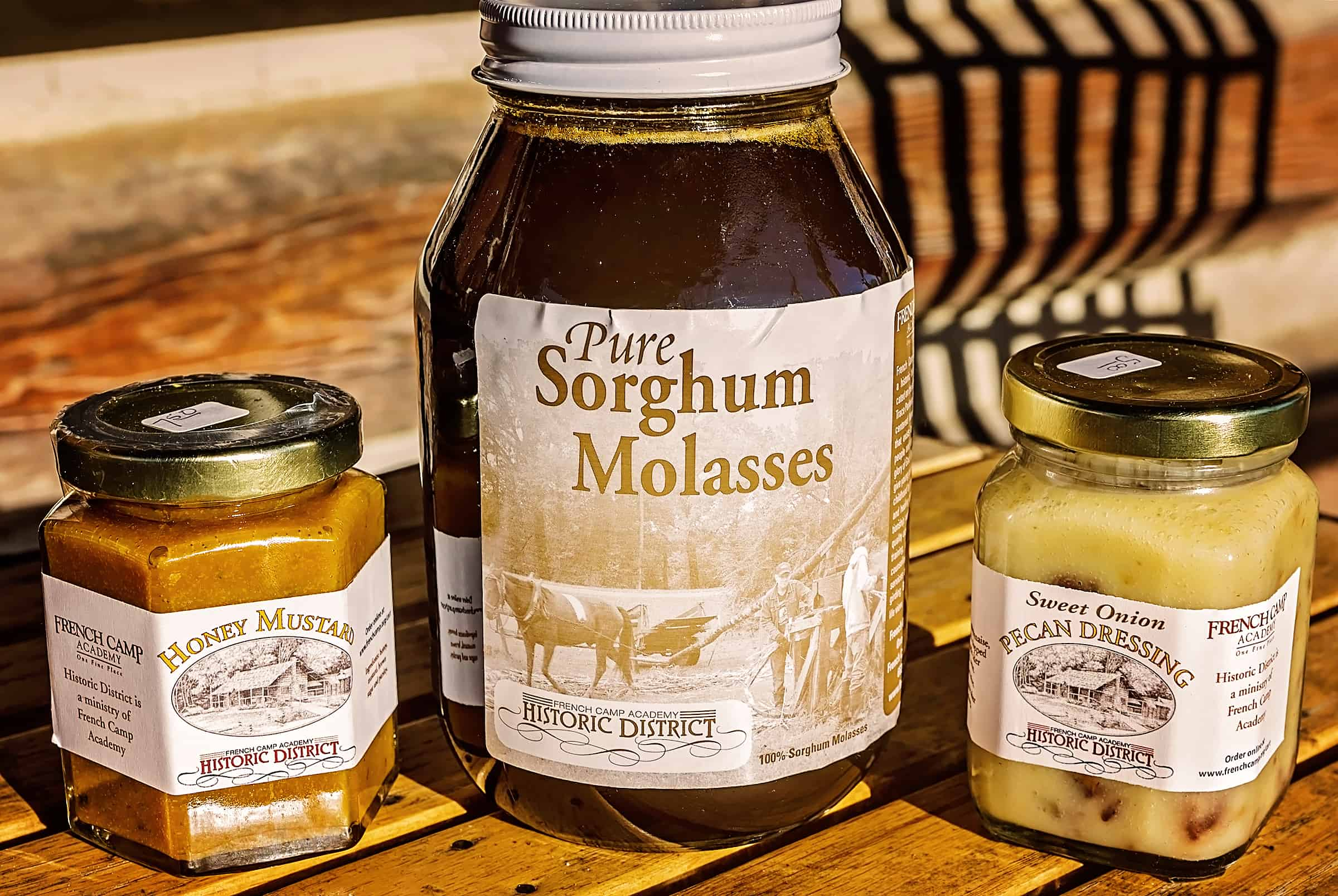 French Camp Mississippi sorghum molasses