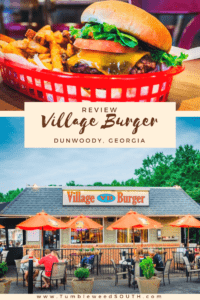 Review: Village Burger Dunwoody Georgia