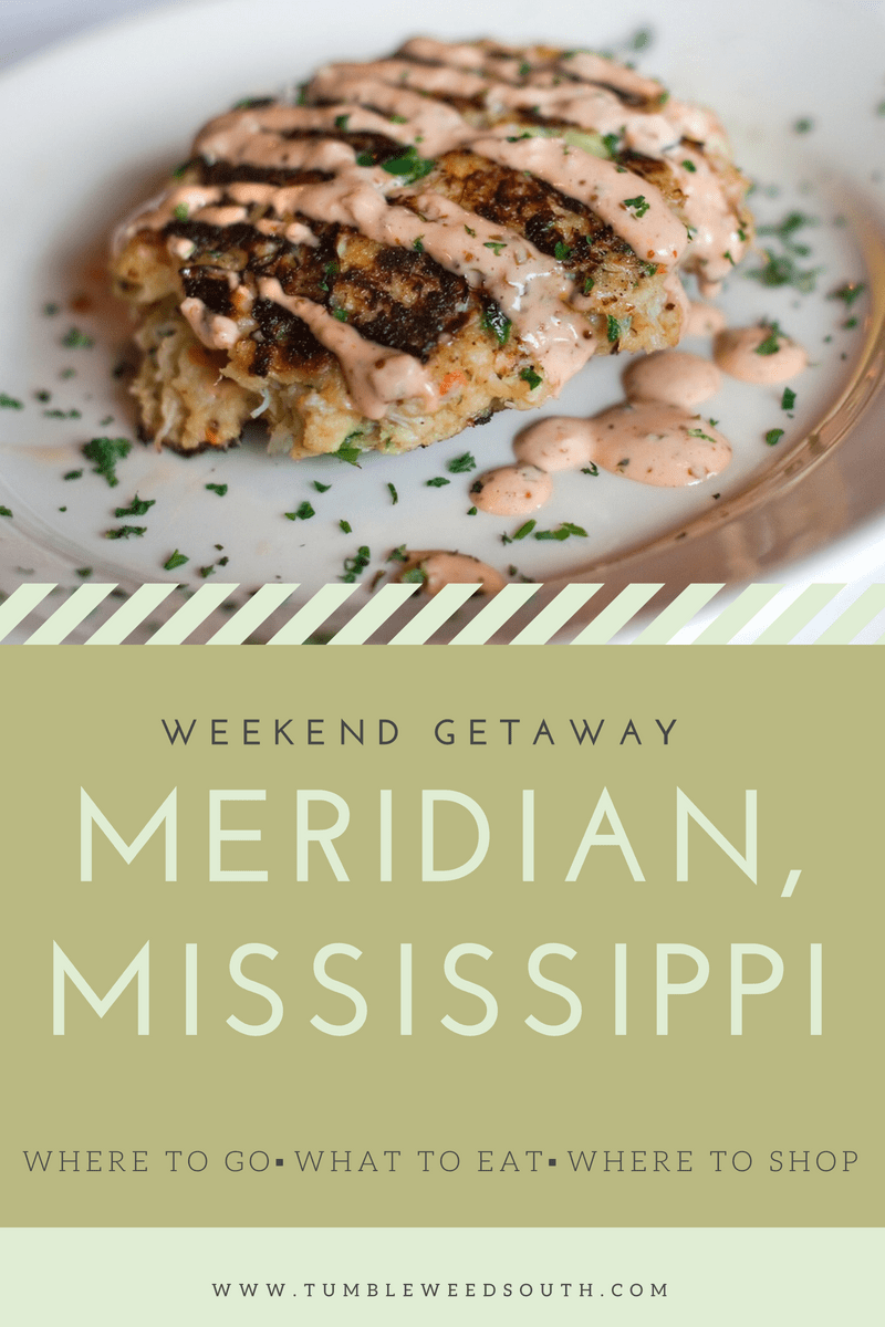Weekend getaway Meridian, Mississippi