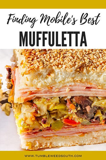 Finding Mobile's Best Muffaletta