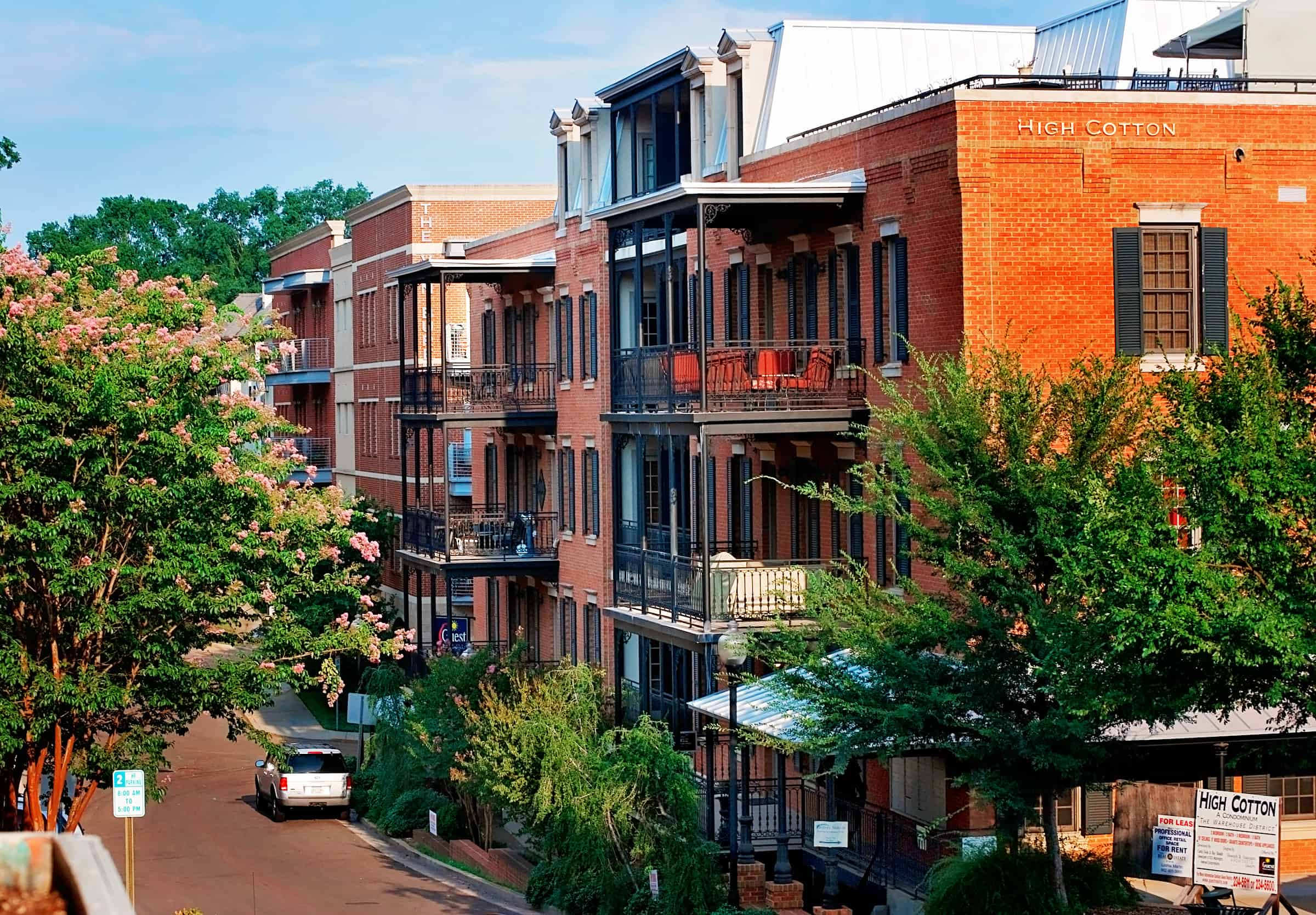 High Cotton luxury condominiums in Oxford Mississippi