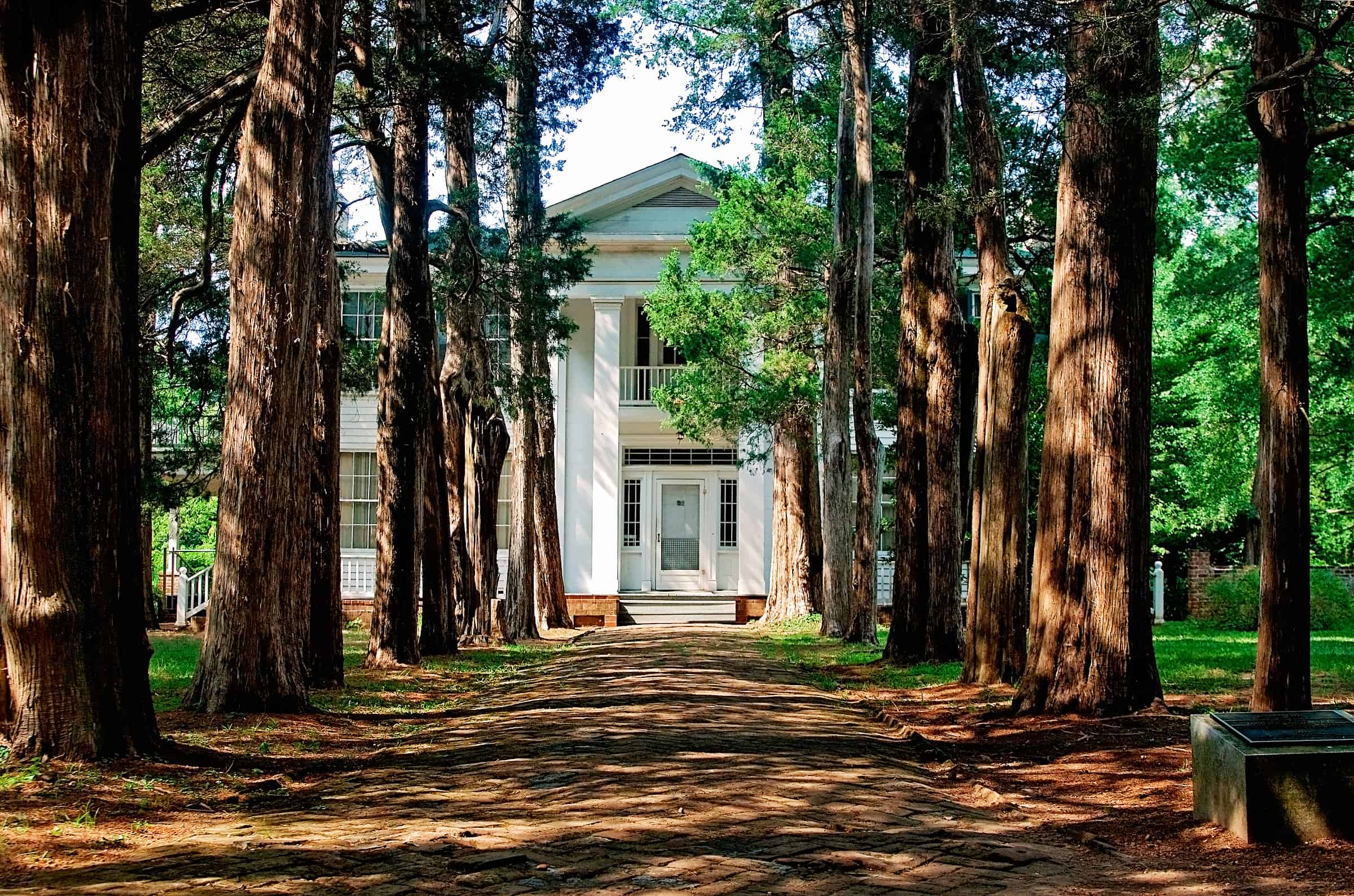 Rowan Oak, William Faulkner's home in Oxford, Mississippi