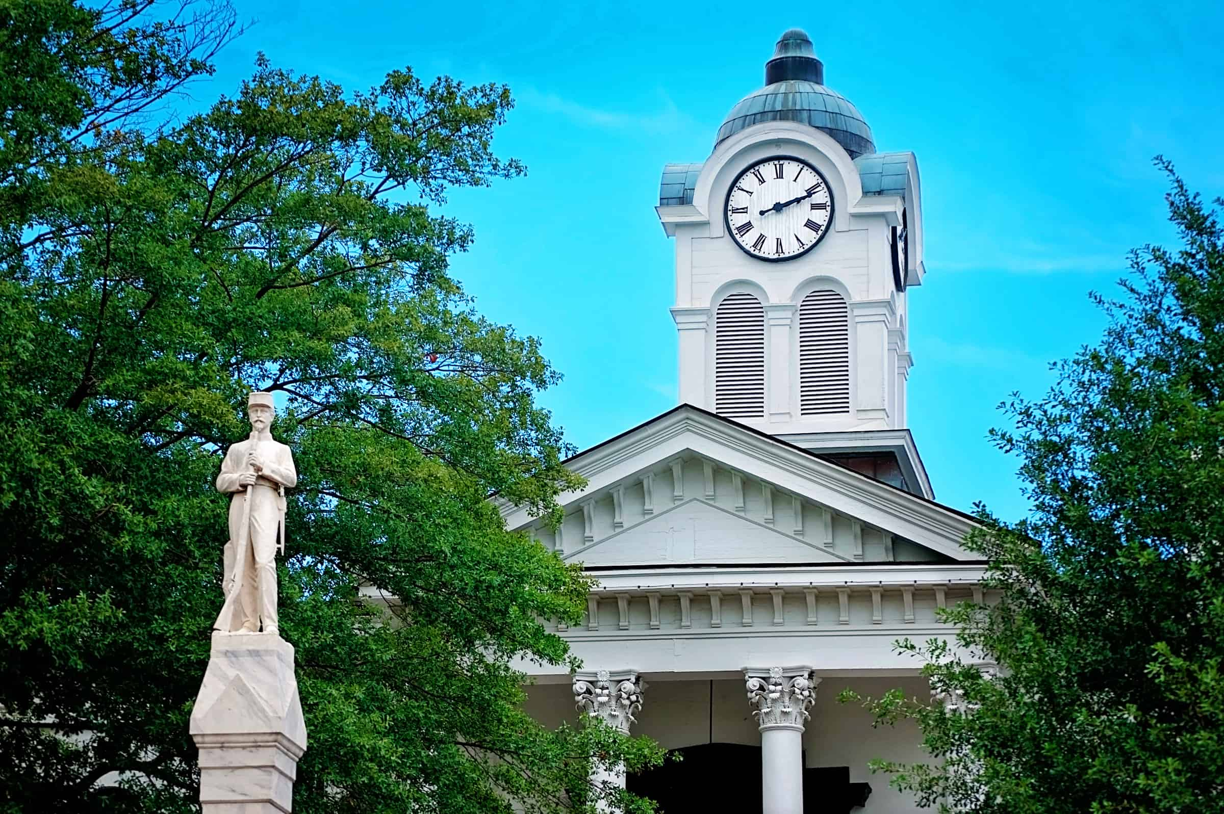 Lafayette County Courthouse in Oxford Mississippi