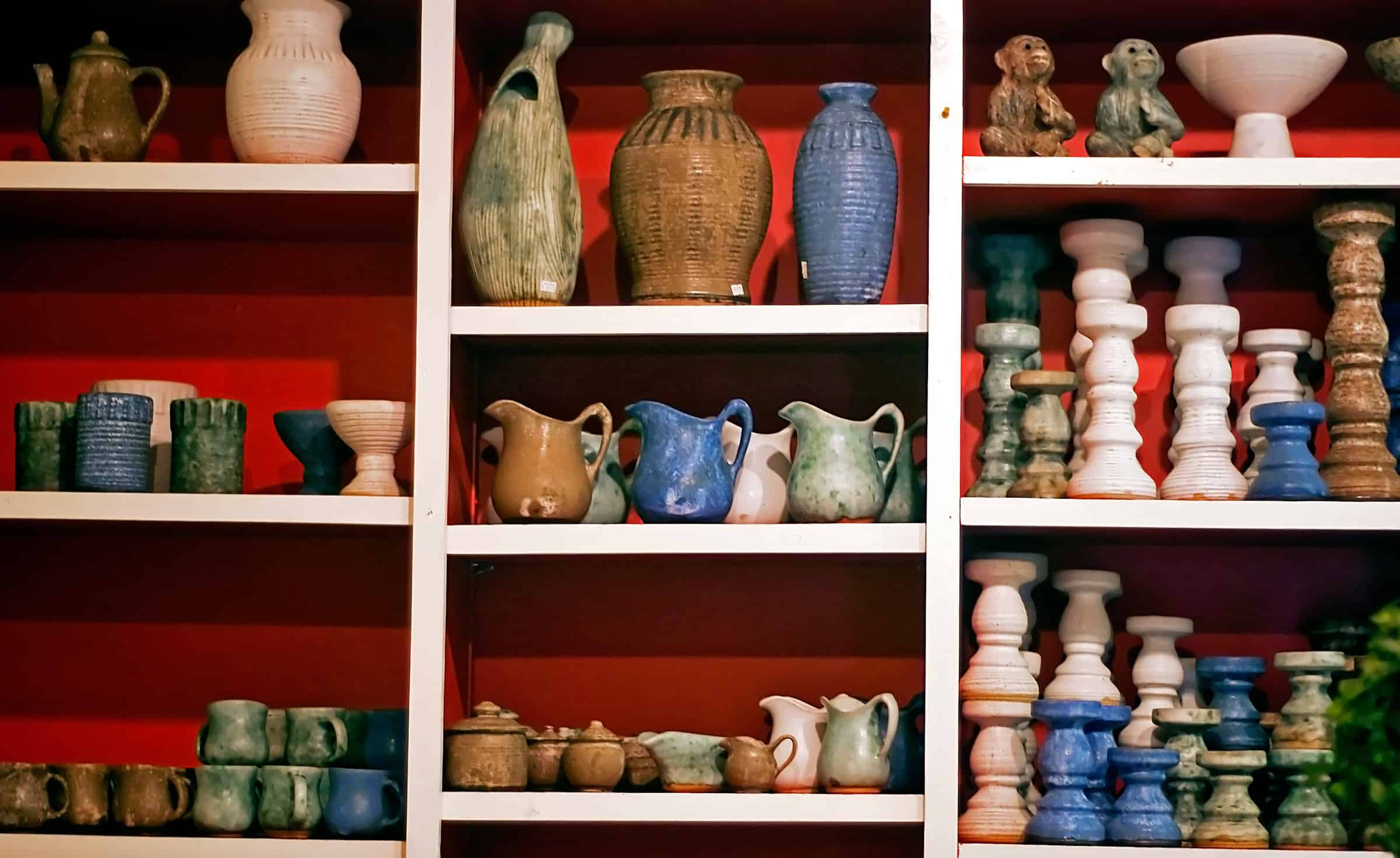 Pottery in Oxford Mississippi